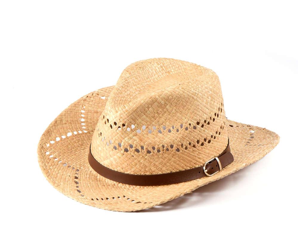 Geschicktes Design professionelle Website meistverkauft Miuno® Herren Cowboy Hut Party Stroh Hut mit Gürtelband H51021 Raffia
